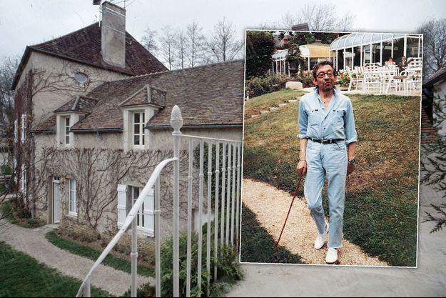 Vêtu quasi toujours à l'identique, ses Repetto aux pieds même en décembre, Serge Gainsbourg fait sa promenade quotidienne, le long du Val de Poirier, le ruisseau qui borde la propriété et se jette dans la Cure, la rivière qui traverse Saint-Père.