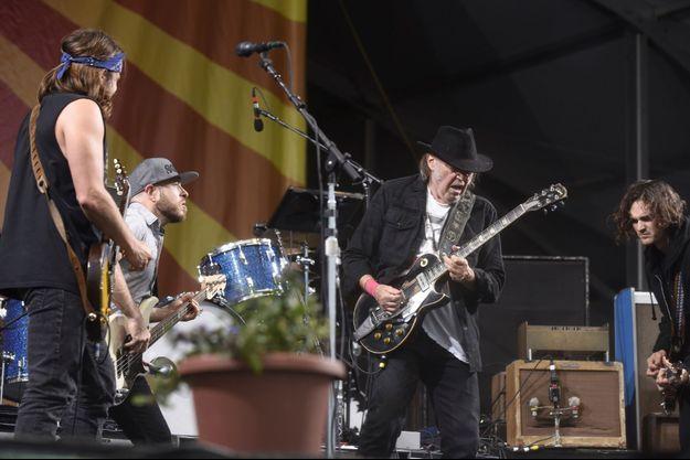 Neil Young + Promise of the Real, en tournée française : le 13 juin à Lille, le 15 à Lyon, le 16 à Marseille, le 21 à Toulouse et le 23 à Paris (Accorhotels Arena).
