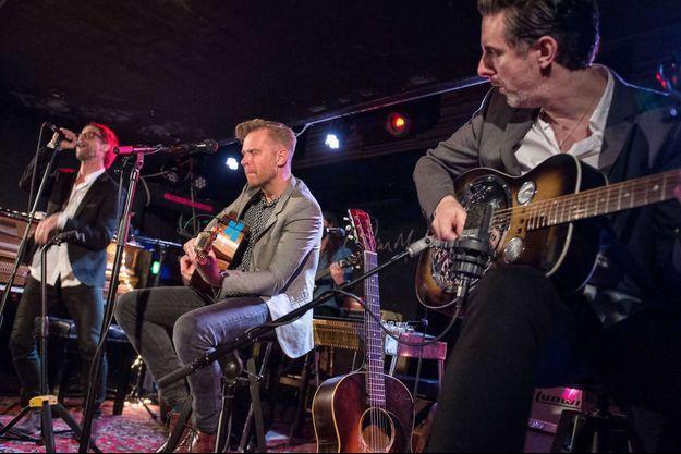 The Temperance Movement sur scène le 8 décembre dernier à Glasgow, en Ecosse.