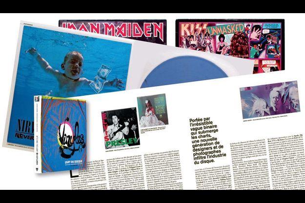 « Vinyles. L'art du disque », de Richard Gouard, Christophe Geudin et Grégory Bricout, éd. de La Martinière, 352 pages, 55 euros.