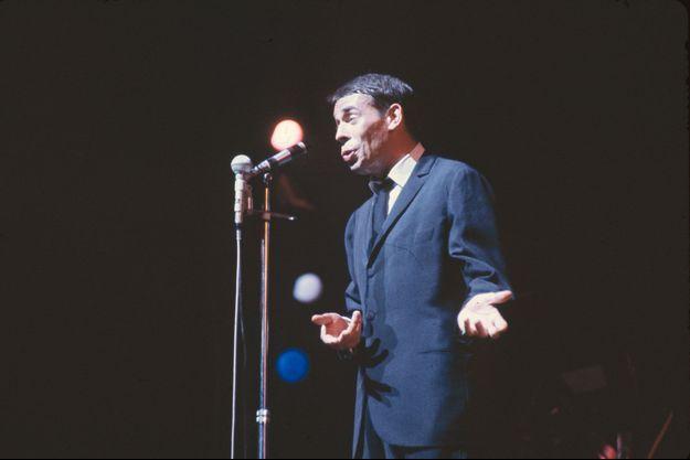 Jacques Brel à l'Olympia, en 1967