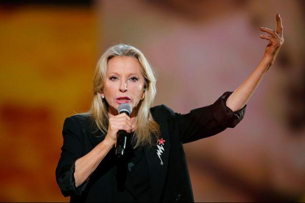 Véronique Sanson lors des Victoires de la musique en février 2017.