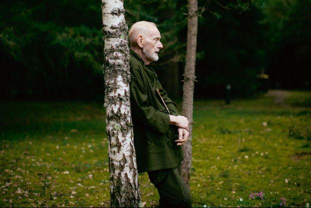 William Sheller, chez lui, dans le Loiret.