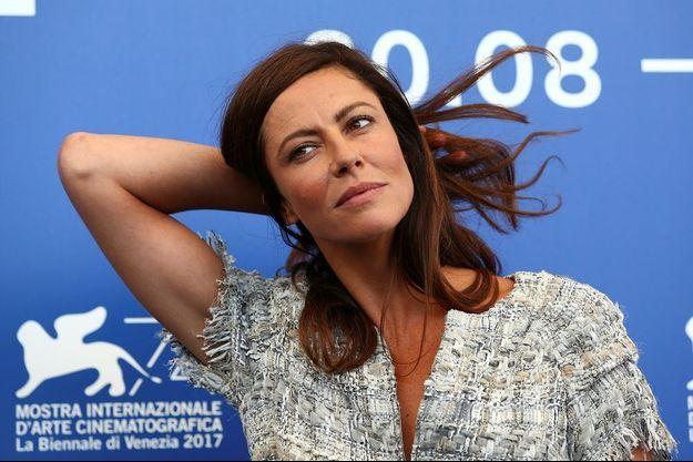 Anna Mouglalis lors du 74e Festival de Venise.