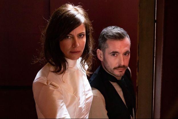 Anna Mouglalis et Xavier Legrand.