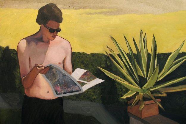 « Le lecteur », de François Malingrëy, 2015.