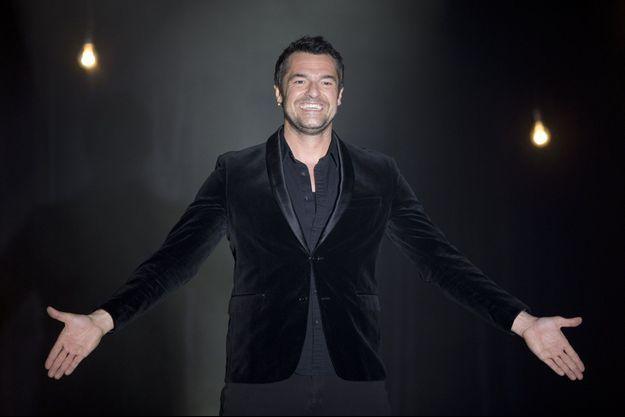 """Arnaud Ducret lors du spectacle Vous fait Plaisir"""" au Palais de la Mediterranée à Nice."""