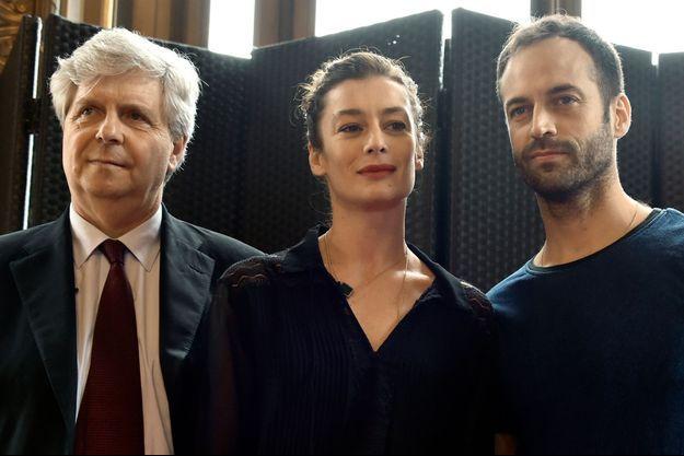 Stéphane Lissner, Aurélie Dupont et Benjamin Millepied