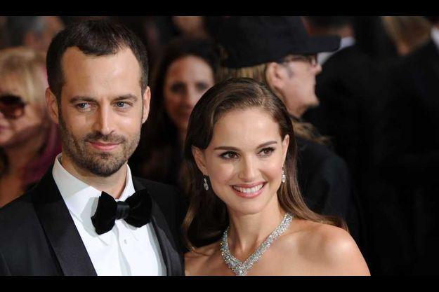 Benjamin Millepied et son épouse Natalie Portman.