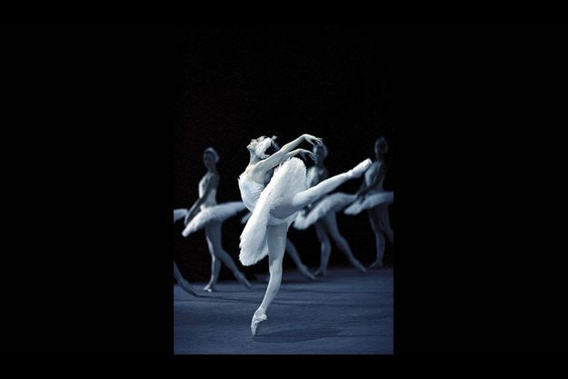La danseuse Zakharova.