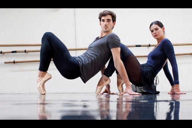 Alice Renavand et Vincent Chaillet, premiers danseurs à l'Opéra de Paris.