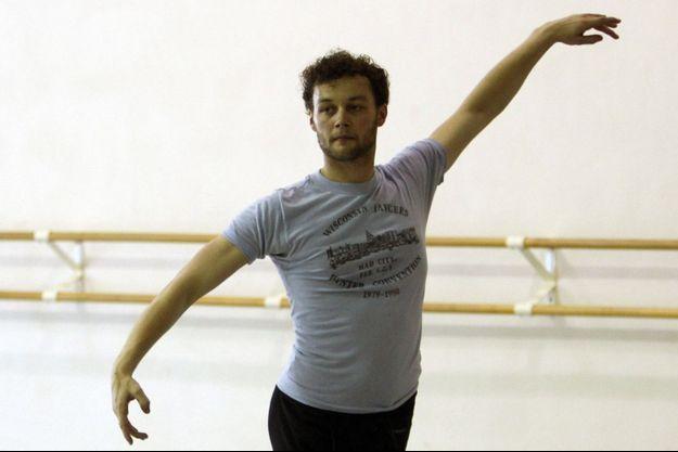 Liam Scarlett au Miami City Ballet, en août 2012.