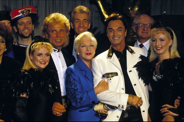 Line Renaud en 1993 avec le duo