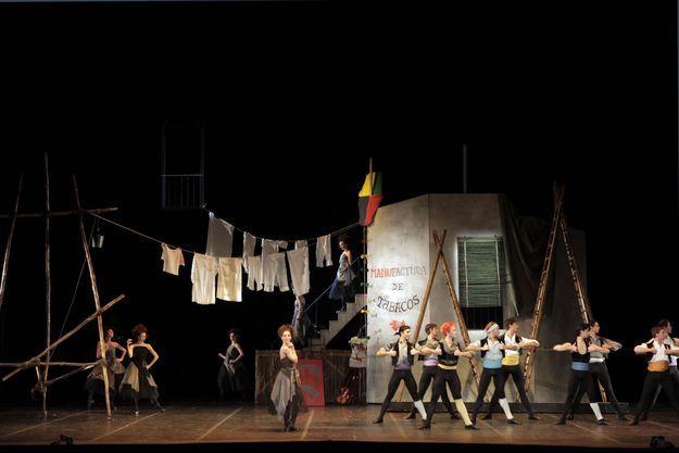 Ballet de l'opéra de Rome.