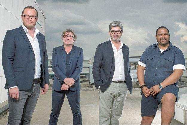 Jérôme Tréhorel, Gérard Pont, Dominique Delorme, Angelo Gopee.