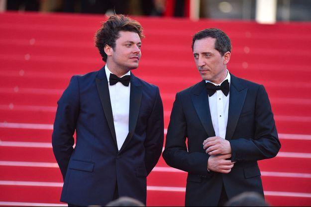Kev Adams et Gad Elmaleh à Cannes en 2016.