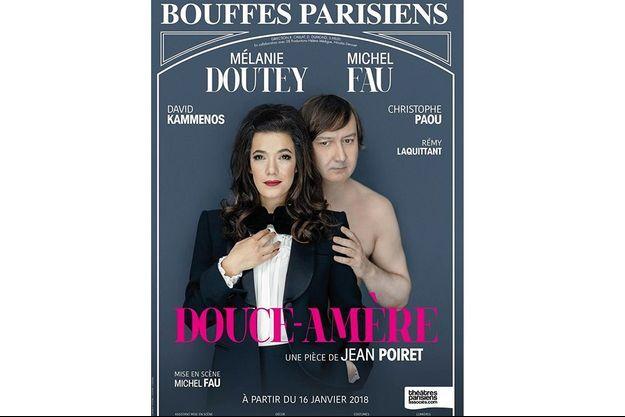 Douce-amère aux Bouffes-parisiens du jeudi au dimanche, jusqu'au 22 avril 2018.