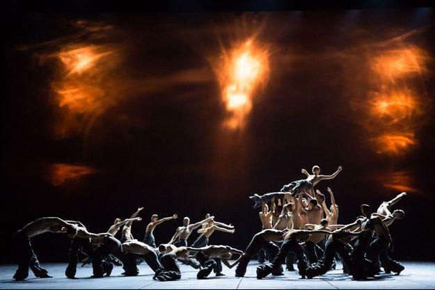 Le Ballet de l'Opéra national de Paris lors de l'ouverture de la saison, samedi.