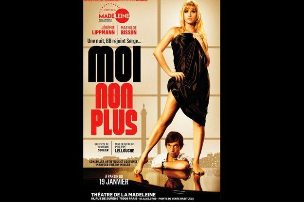 """""""Moi non plus"""", actuellement au Théâtre de la Madeleine."""