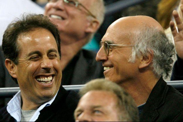 Jerry Seinfeld & Larry David en 2007