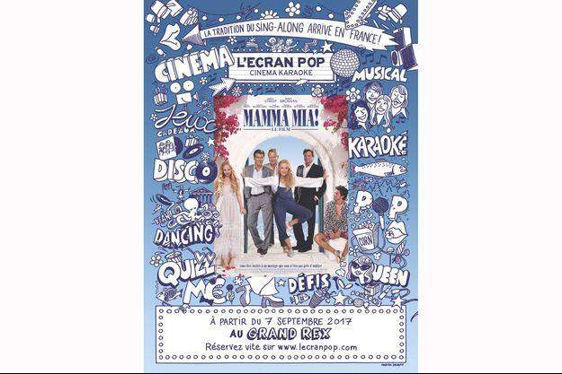 L'affiche de L'Ecran Pop.