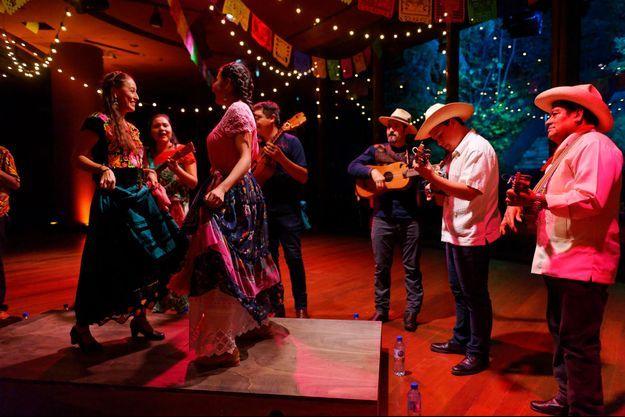 "Le spectacle ""Fandango Bal Mexicain"""