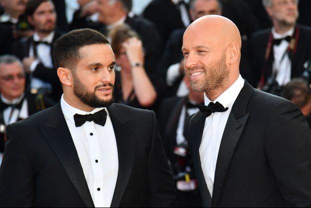 Malik Bentalha aux côtés de Franck Gastambide lors du Festival de Cannes 2018.