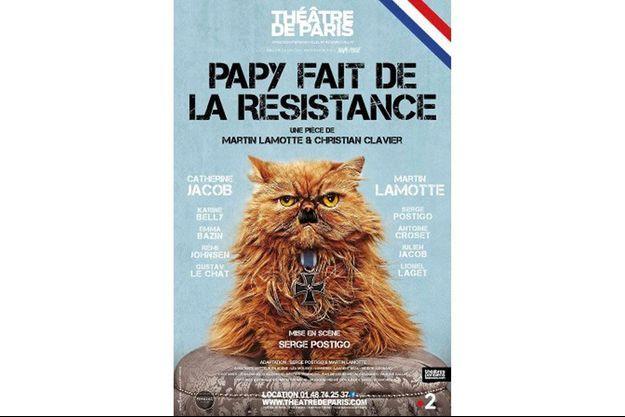 """Martin Lamotte, seul rescapé de """"Papy fait de la résistance"""""""