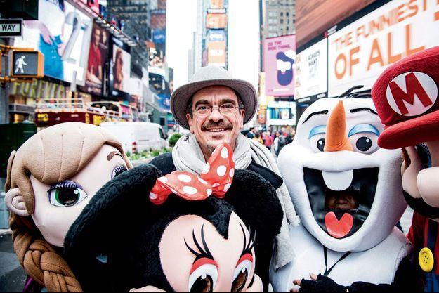 Philippe Decoufé à Times Square.