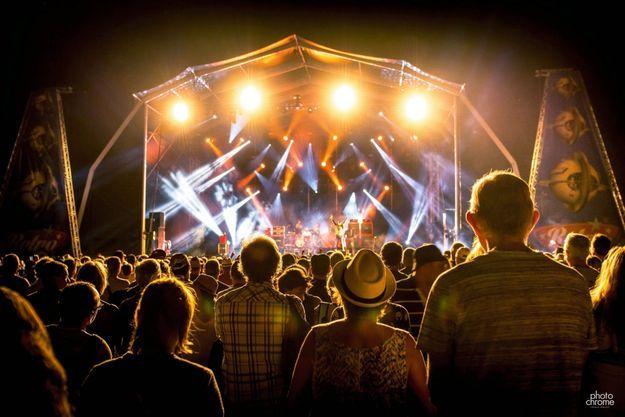 Dans le public du festival breton, No Logo BZH