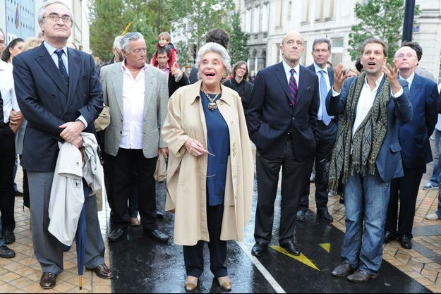 La Baronne Philippine de Rothschild lors de l'inauguration de la biennale d'art contemporain de Bordeaux, le 06 octobre 2011.