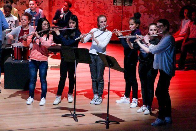 Photo prise à l'Ecole des Arts de la Scène.