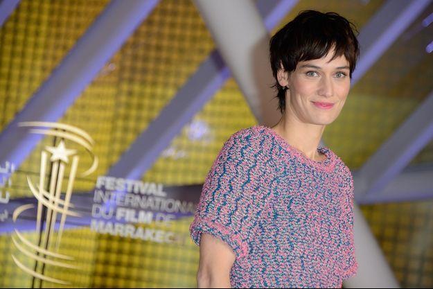 Clotilde Hesme, récompensée d'un prix d'interprétation à Marrakech.