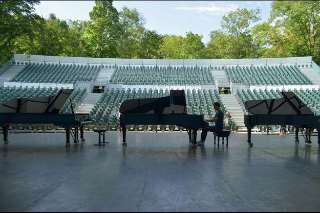 Le Festival international de piano de La Roque-d'Anthéron existe depuis 1980.