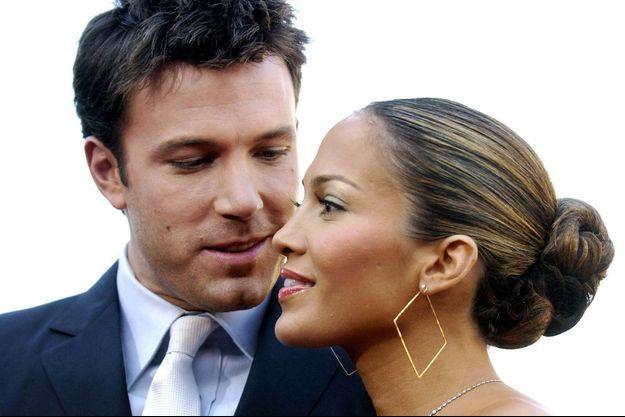 Ben Affleck et Jennifer Lopez en février 2003.