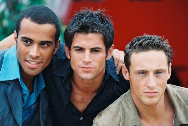 Adel, Filip et Frank des 2Be3 en 1997.