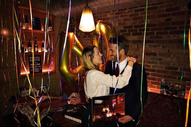Blake Lively et Ryan Reynolds pour les 40 ans de l'acteur