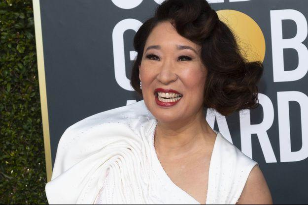 Sandra Oh aux Golden Globes 2019