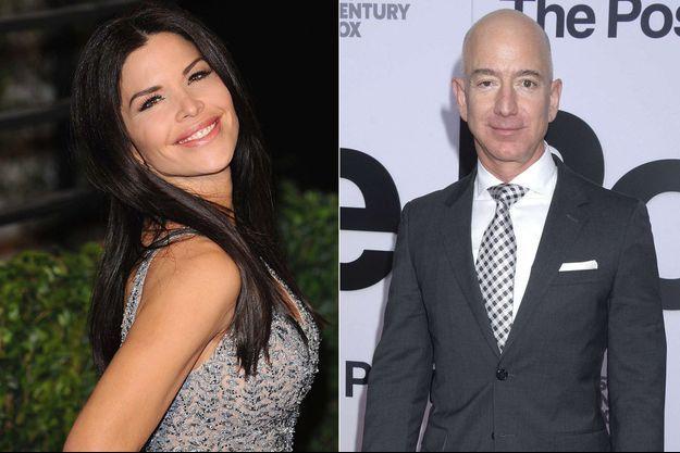Lauren Sanchez et Jeff Bezos