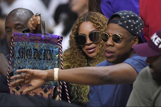 Beyoncé et Jay Z en avril 2017.