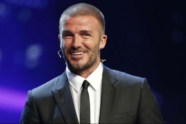 David Beckham à Monaco en août 2018