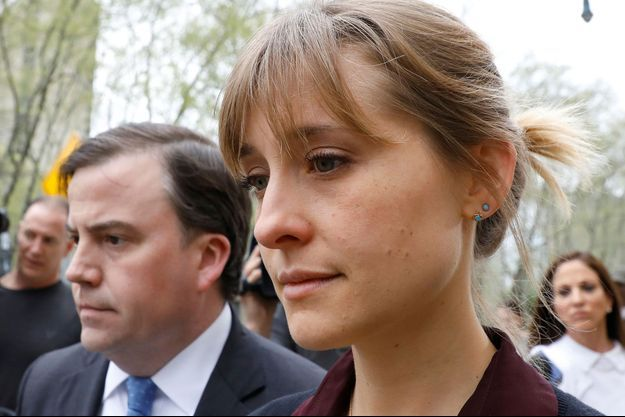 Allison Mack, le 4 mai dernier à New York.