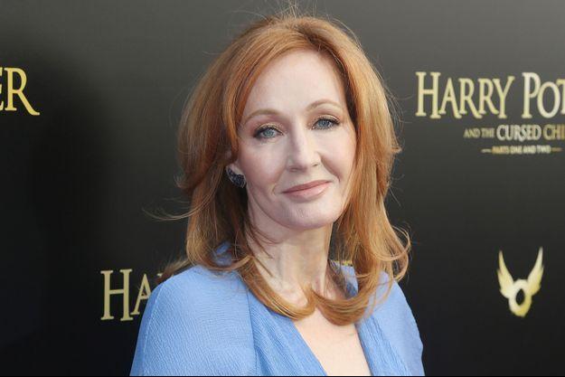 J.K. Rowling en avril 2018.