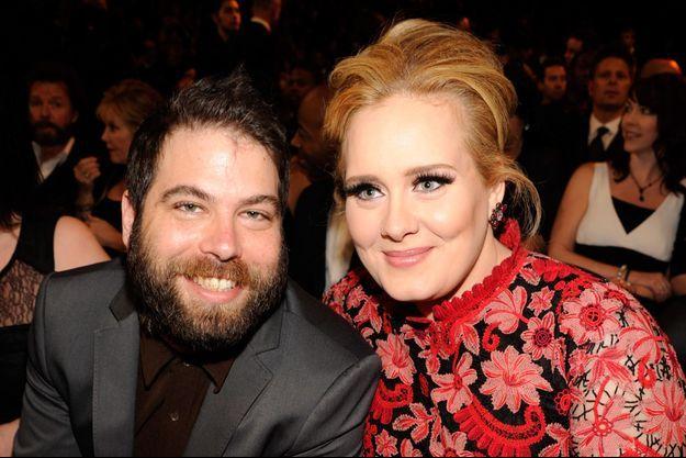 Simon Konecki et Adele en 2013