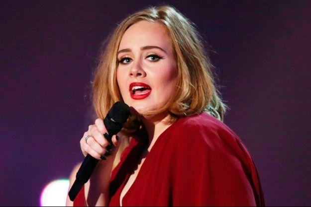 Adele en concert.