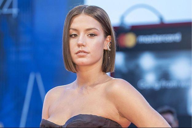 Adèle Exarchopoulos le 8 septembre 2017 à Venise.