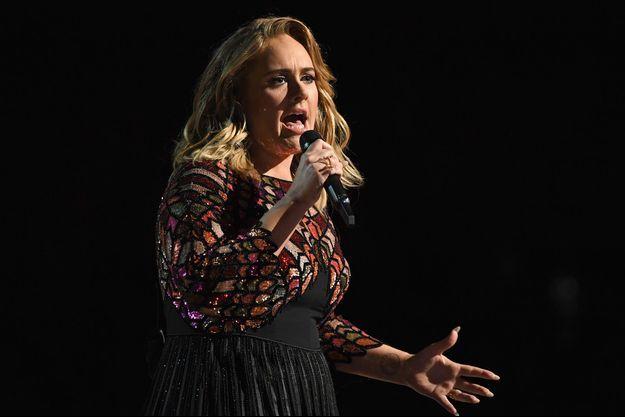 Adele aux Grammy Awards 2017
