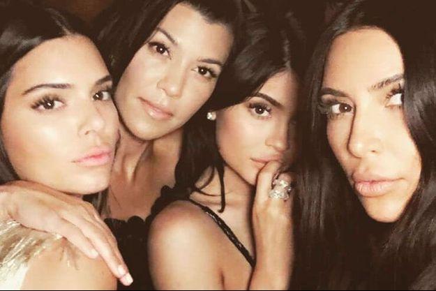Kendall, Kourtney, Kylie et Kim Kardashian