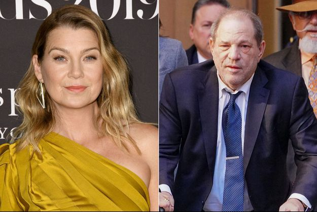 Ellen Pompeo et Harvey Weinstein