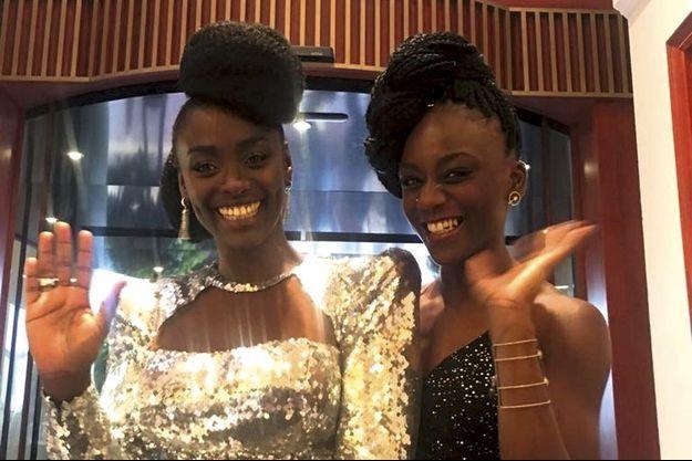 Aïssa Maïga et Assa Sylla, deux des seize actrices noires présentes au Festival de Cannes.
